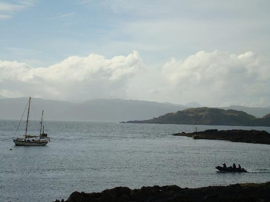 Isle of Seil, UK: The ferry to Easdale