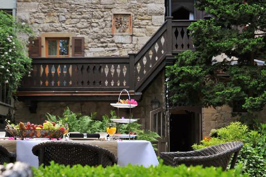 Hotel Herrnschloesschen: Garden