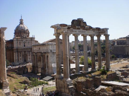 Stefano's RomeCabs: The Roman Forum