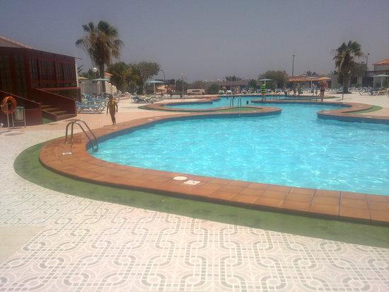 Castillo Beach : One of the pools