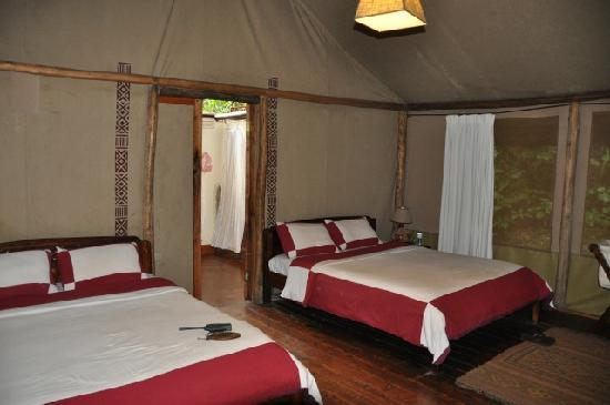 Sanctuary Gorilla Forest Camp: bedroom