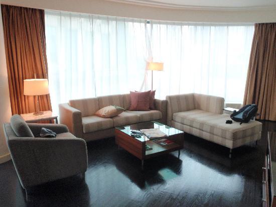 The Westin Kuala Lumpur: The 2 Bedroom Executive Residence living room area
