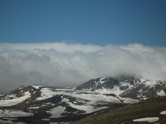 Beartooth Highway: on the way to the top
