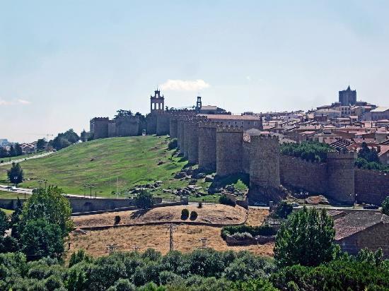 Ávila, España: Avila Stadtansicht