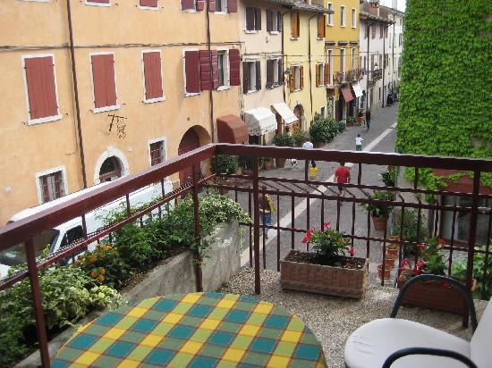 Hotel Speranza: The view from the balcony