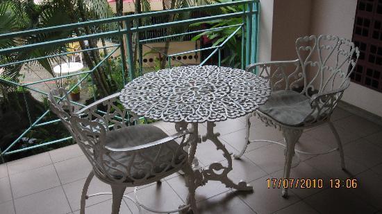 Enchanted Waters Tobago: Balcony