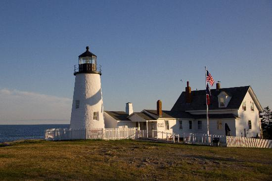 Bradley Inn: Lighthouse at nearby Pemaquid Point