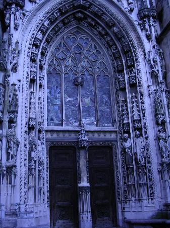 Catedral de Lausanne: Cathedral Door