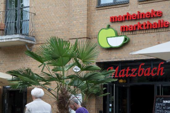 Hotel Matzbach : There is also a food market in the same building as the hotel, great place to grab a quick break