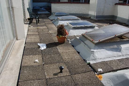 Aparthotel Wellington: il giardino (!)