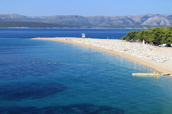 Bluesun Resort Bonaca: Zlatni Rat beach