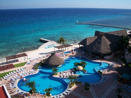 El Cozumeleño Beach Resort: View from 1716