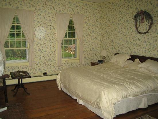 Bailey's Mills Bed and Breakfast: Honeymoon suite bedroom