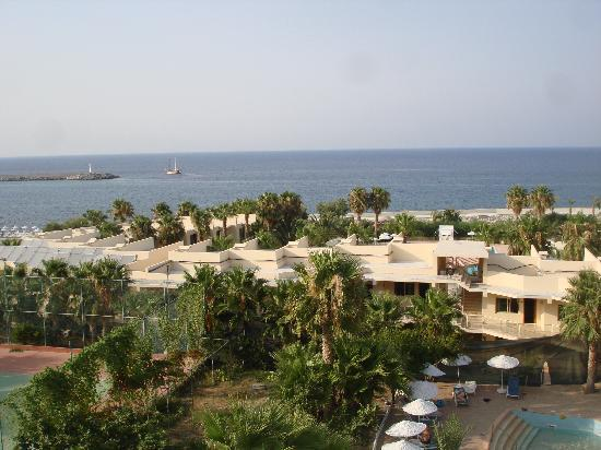 Oscar Resort Hotel: view from gallery room