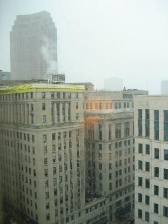 The Ritz-Carlton, Cleveland: 'Beautiful' view of Cleveland from the room