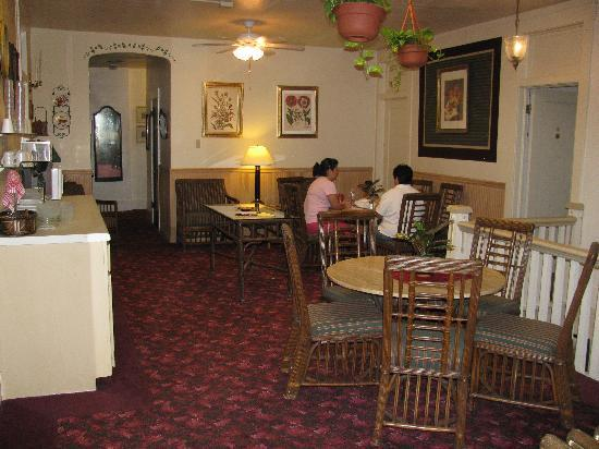 Palace Hotel: Breakfast area, just outside of room #50