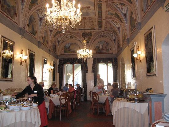 Hotel Degli Orafi: The dining room