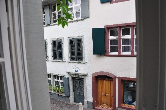 Der Teufelhof Basel : View from window