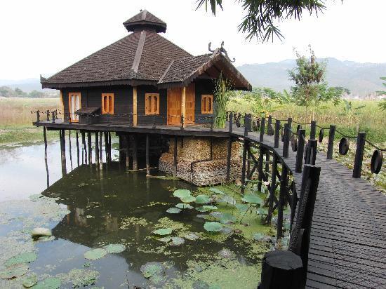 Inle Princess Resort: Hotelanlage