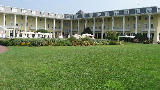 the grounds of Congress Hall