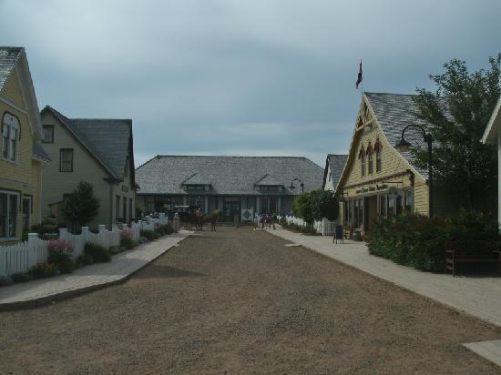 Avonlea Village: Main street looking towards the station