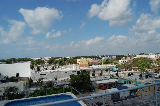 Paraiso Azul's -Casa De Gopala: view from the roof