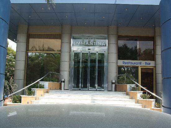 Emmantina Hotel: Eingang