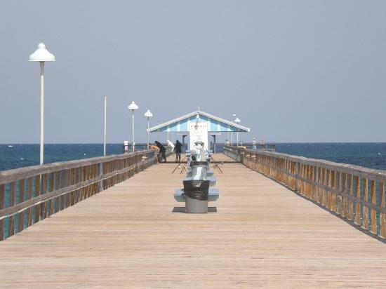 Windjammer Resort: On the Pier