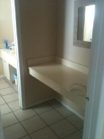 Bahia Beach Hotel: Another bathroom shot