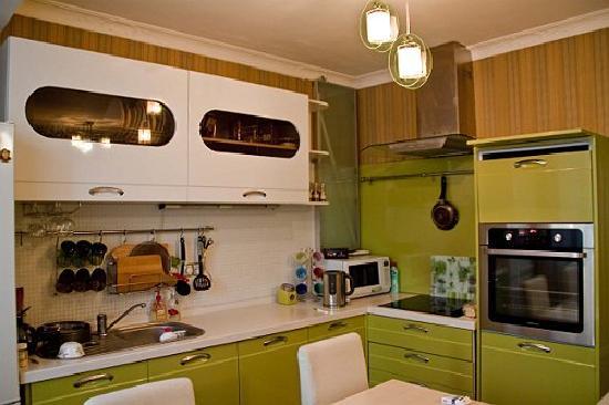 Irkutsk Hostel: Kitchen in an apartment