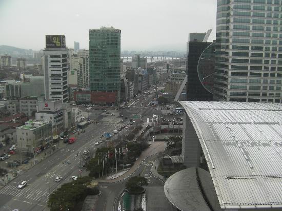 InterContinental Seoul COEX: Blick aus Zimmer