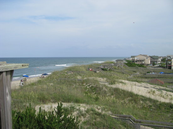 Nags Head, Carolina del Norte: A view at Nag's Head, NC
