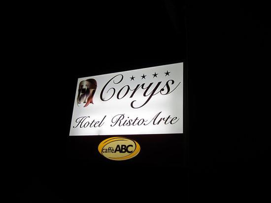 RistoArte Corys: restaurant and hotel