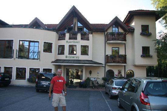 Sporthotel Schönruh: Hotel entrance