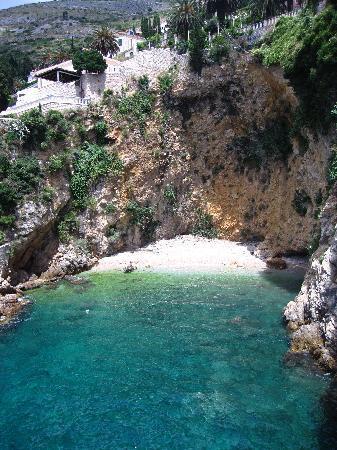 Villa Dubrovnik : Beautiful sea view from restaurant terrace