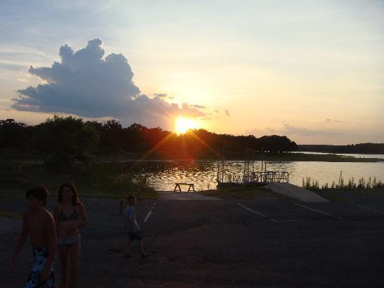 Lake Brownwood State Park: another view of the lake
