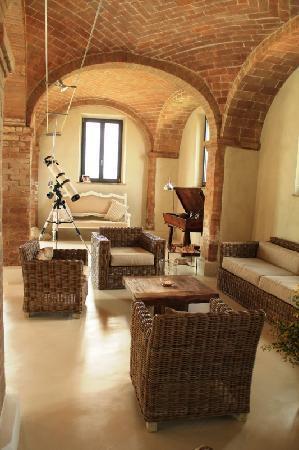Podre al Salcio: Luxury Tuscany villa rental Podere al Salcio - Main house living