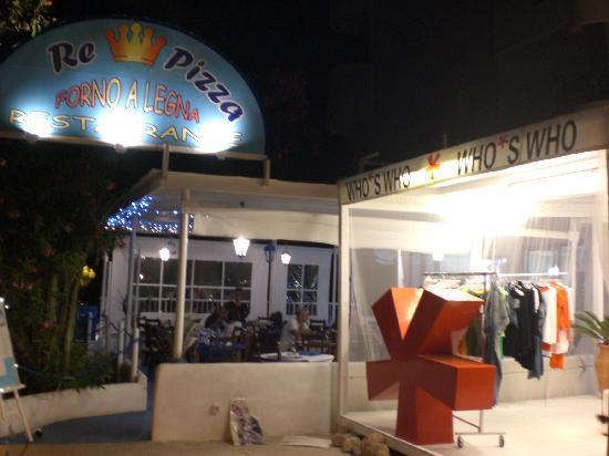 Re Pizza: Il ristorante con vicino WHO'S WHO