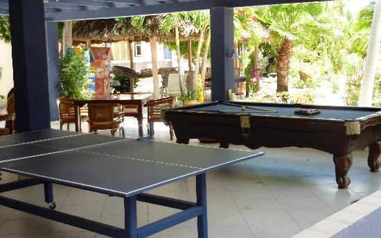 Club Arias B&B: pool/ping-pong obviously!