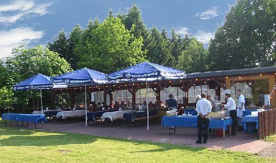 Biergarten im Heidehotel Bockelmann