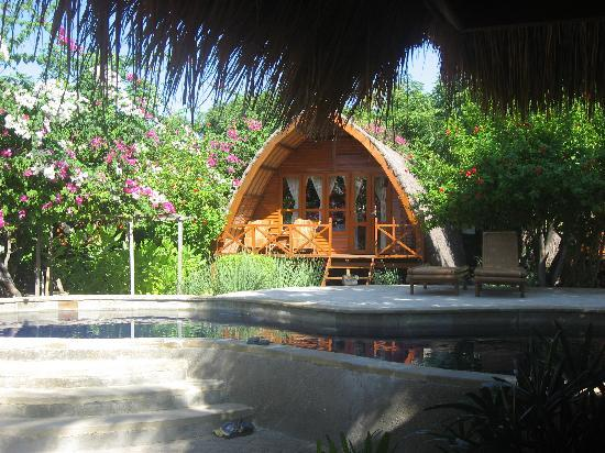 Manta Dive Gili Air Resort: One of the lovely bungalows, pool in front