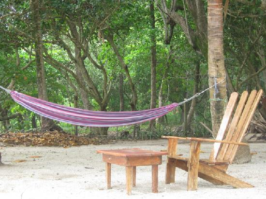 Ranchos Itauna: hammock on the beack
