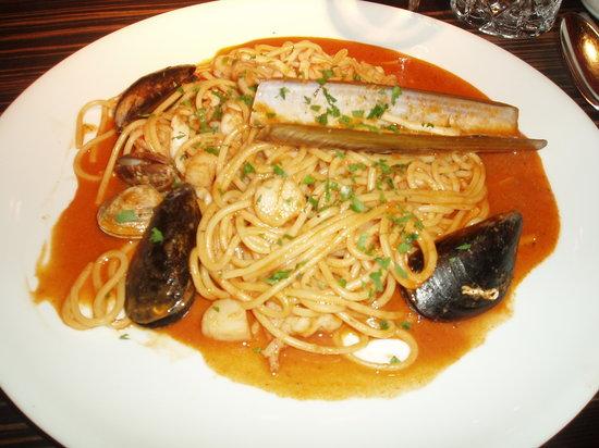 Spaghetti nach Art Languedoc