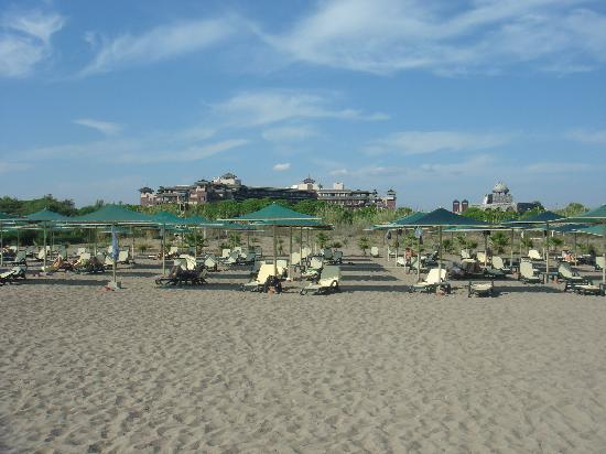 Xanadu Resort Hotel: Blick vom Strand Richtung Hotel