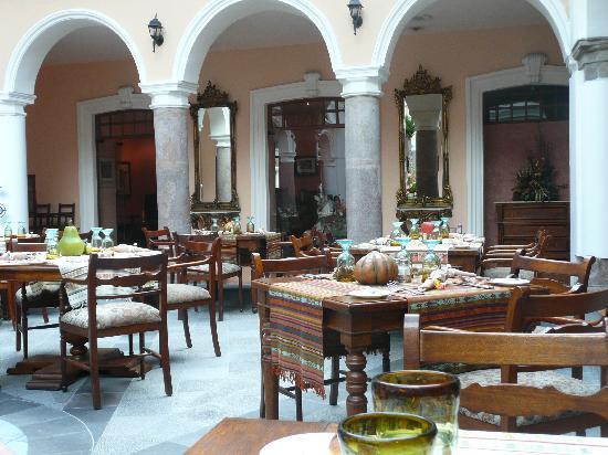 El Rincon de Cantuna: Restaurant im Hotel Patio Andaluz