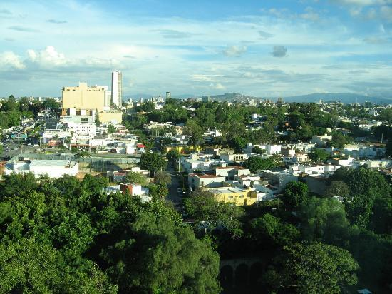 NH Collection Guadalajara Providencia: view from window