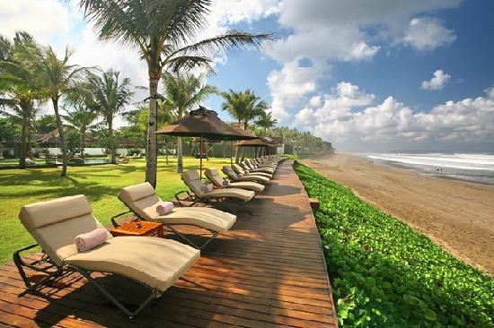 The Samaya Bali Seminyak: Beach Sonnenterasse