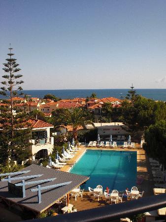 Contessa Hotel : Utsikt från takterrass