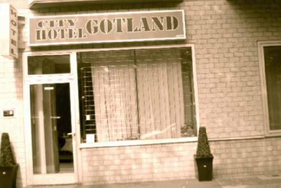City Hotel Gotland: Eingang ins Hotel