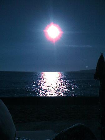 Arcu di Sole Hotel : coucher de soleil du balcon